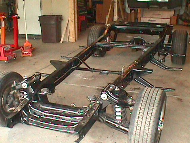 1953 Chevy Subframe 185607 on 1954 chevy truck s10 frame swap